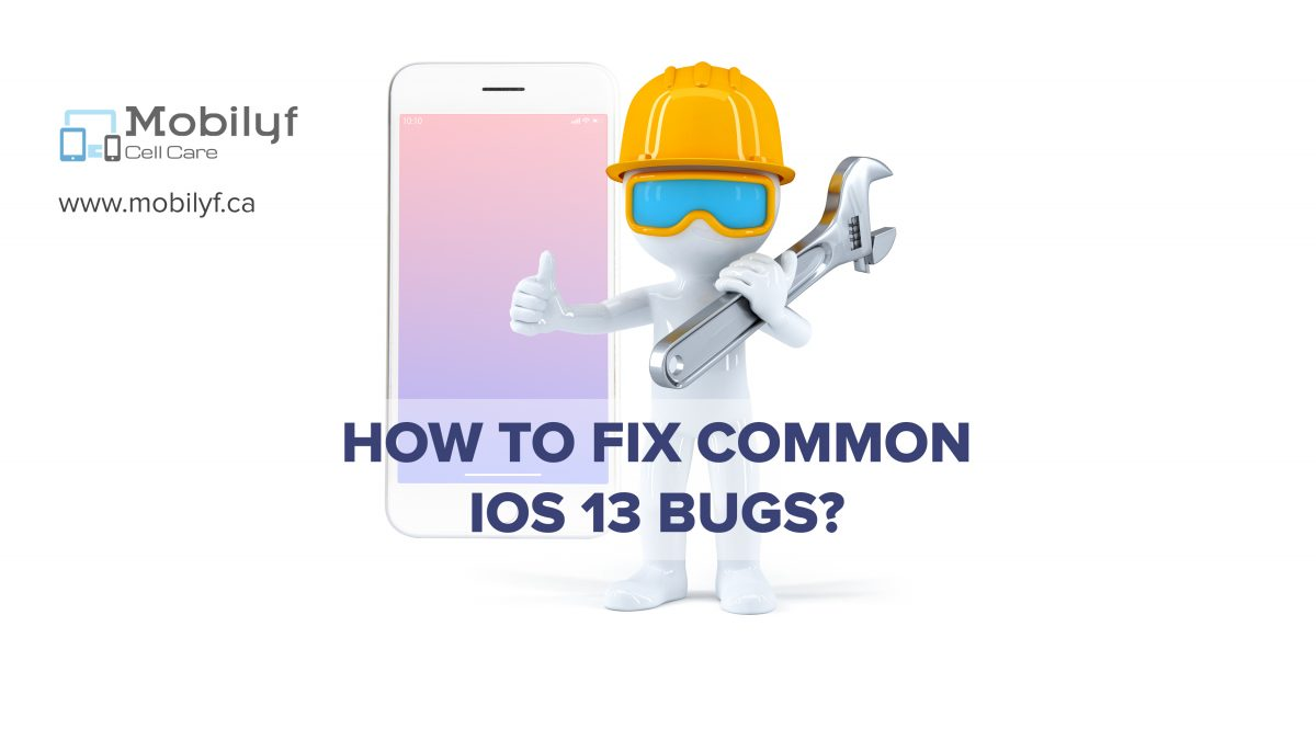 How to fix common iOS 13 bugs?